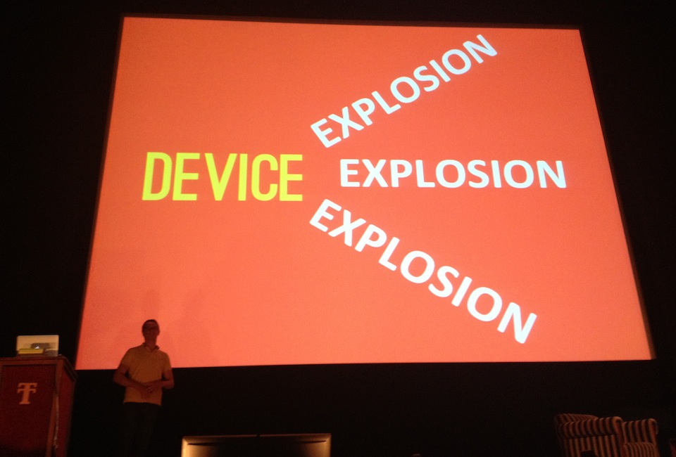 Mobilism 2013 - Device Explosion